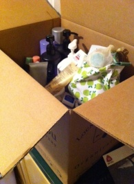Large box FULL of products.